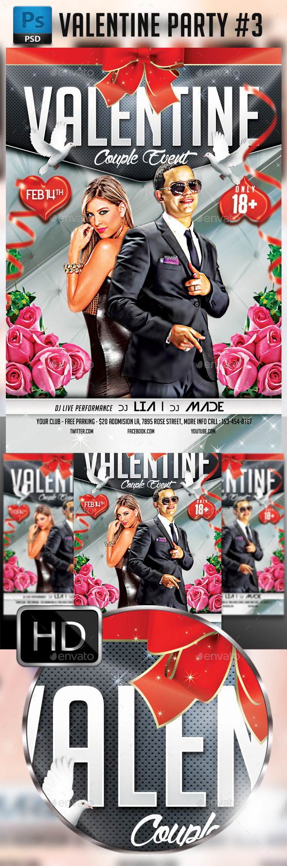 Valentines #3 - Clubs & Parties Events