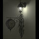 Victorian Wall Lamp and Clock (Modern Set) - 3DOcean Item for Sale