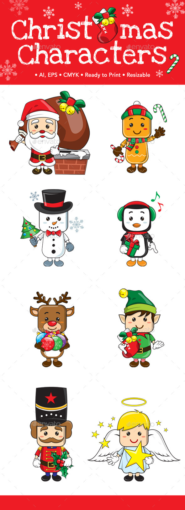 Christmas Characters - Miscellaneous Characters