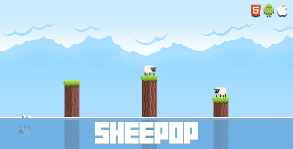Sheepop - HTML5 Mobile Game - CodeCanyon Item for Sale