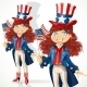Girl in an Uncle Sam Suit - GraphicRiver Item for Sale