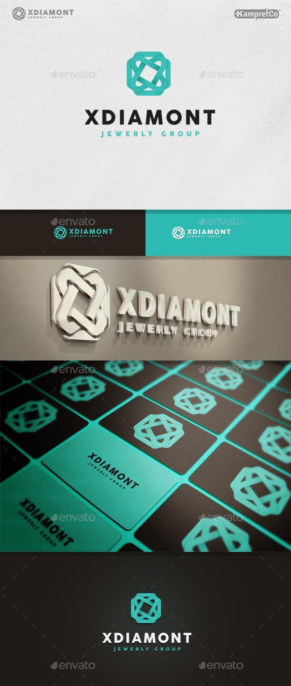 Jewelry Diamond logo - Letters Logo Templates