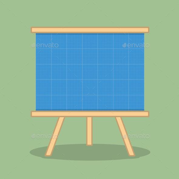 Blueprint - Objects Vectors