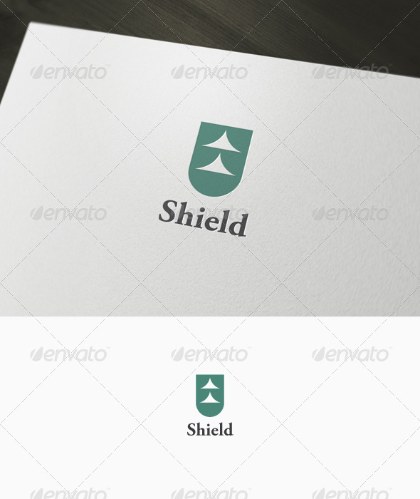 Abtract Shield Logo - Vector Abstract