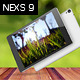 Nexs 9 Tablet Mockups - GraphicRiver Item for Sale
