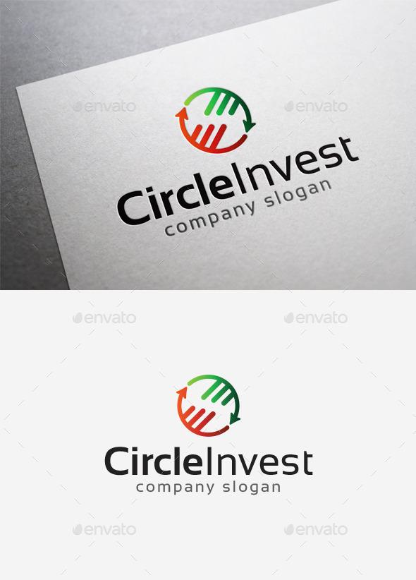 Circle Invest Logo - Symbols Logo Templates
