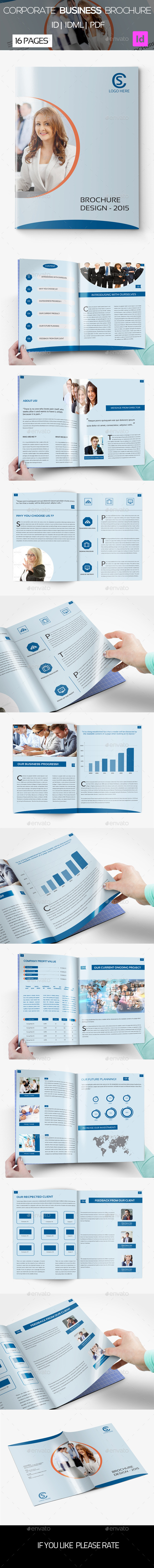16 pages Corporate Business Brochure  02 - Corporate Brochures