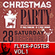 2018 Christmas Party Flyer - Poster Vol.1 - GraphicRiver Item for Sale