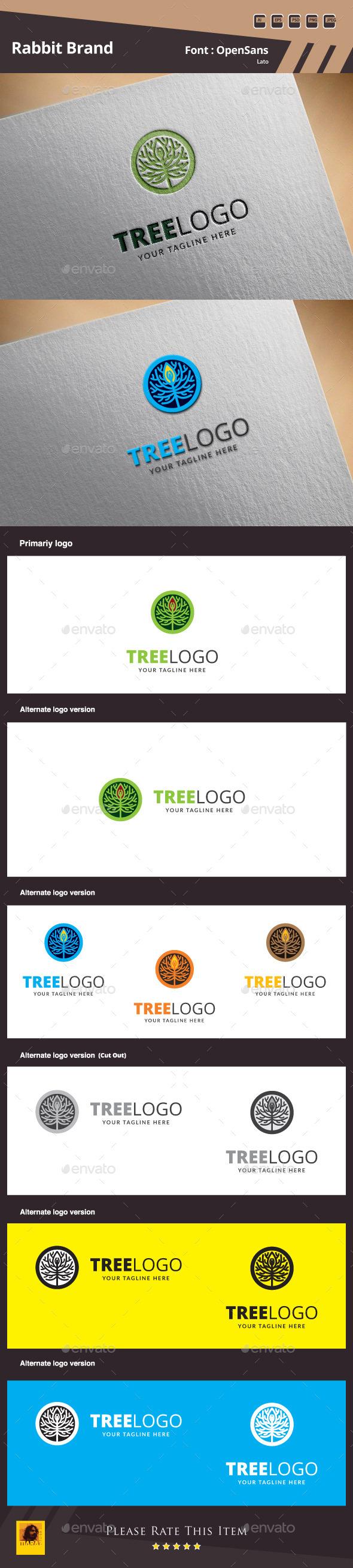 Tree Logo Template - Nature Logo Templates