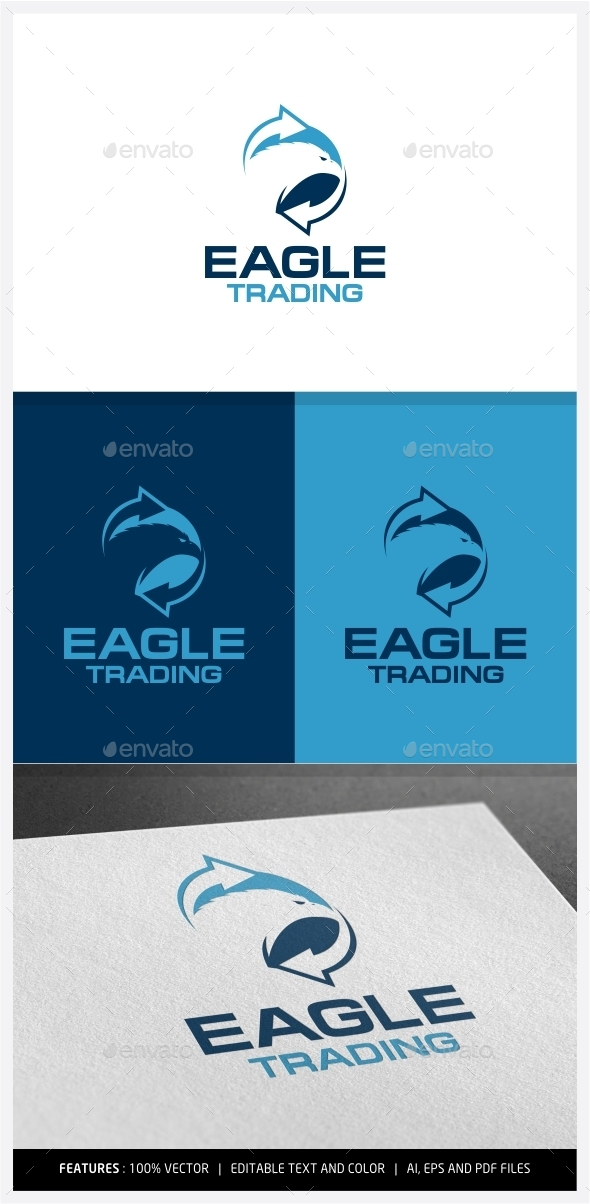 Eagle Trading Logo - Animals Logo Templates