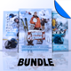 Winter Sports Flyer / Poster Template Bundle Vol 2