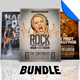 Rock-n-Roll Flyer / Poster Template Bundle
