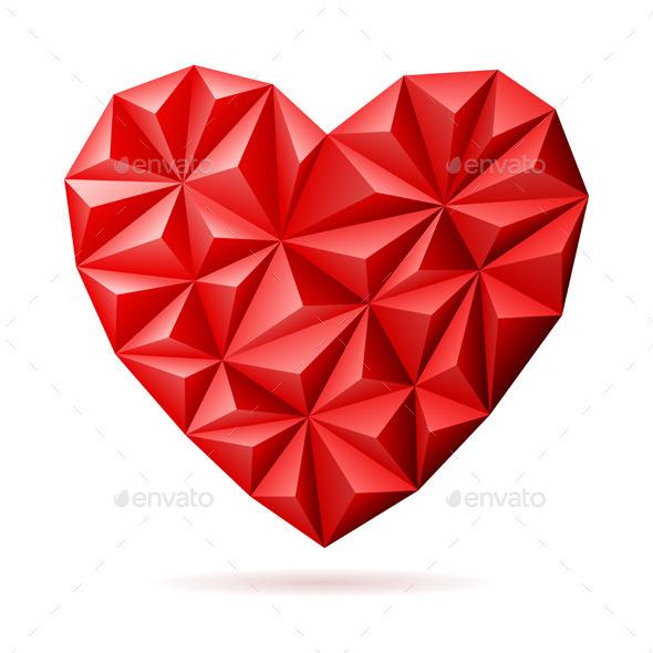 Valentine's Day Heart - Valentines Seasons/Holidays