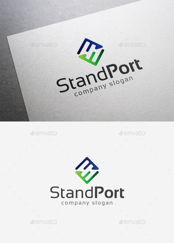 Standport Logo - Letters Logo Templates