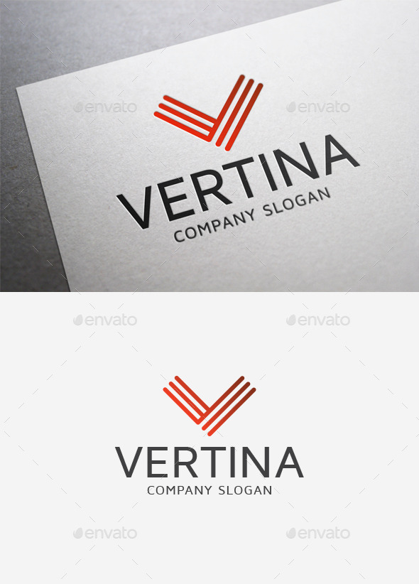 Vertina Logo - Letters Logo Templates
