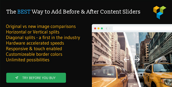 Before & After Image Slider for WPBakery Page Builder (formerly Visual Composer) - CodeCanyon Item for Sale