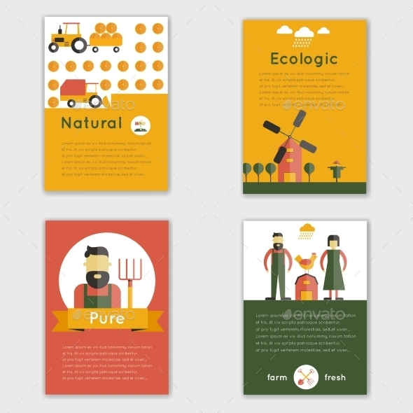 Farm Fresh Brochure - Business Conceptual