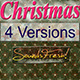 Christmas Saxophone Dubstep Logo 1