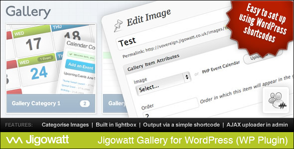 Jigowatt Gallery for WordPress - CodeCanyon Item for Sale