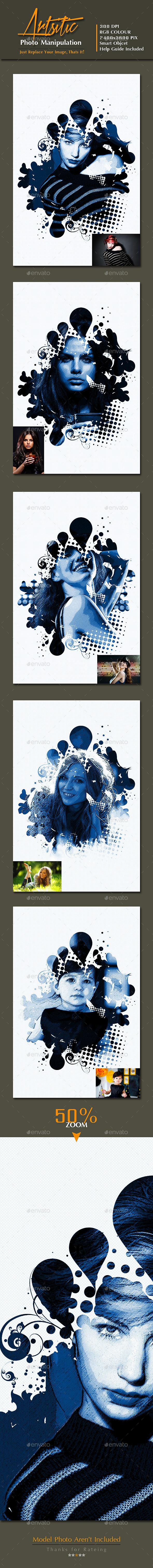 Artistic Photo Manipulation vol. 3 - Photo Templates Graphics