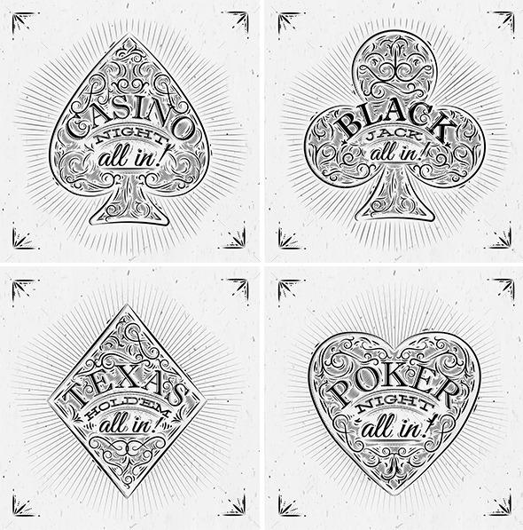 Casino Symbols - Concepts Business