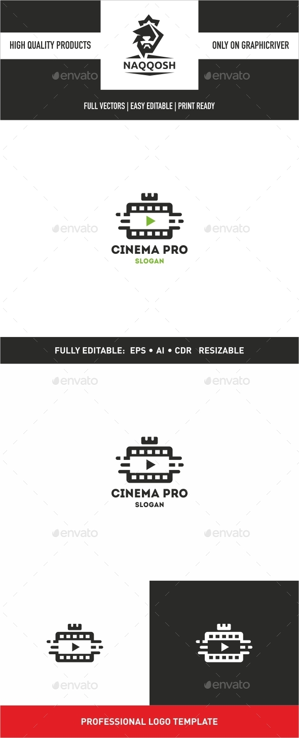 Cinema Pro - Logo Templates