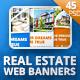 Real Estate Web Banner Set (45 PSD) - GraphicRiver Item for Sale