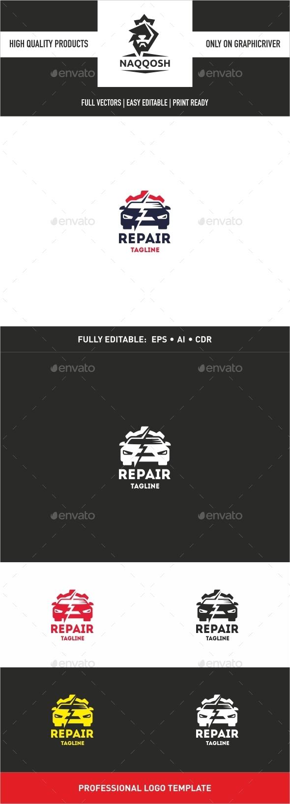 Repair - Logo Templates