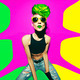 disco punk fashion style club party girl - PhotoDune Item for Sale
