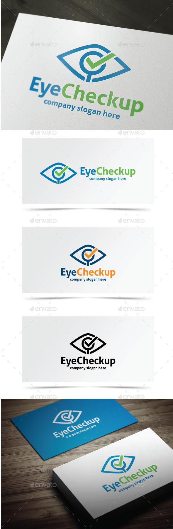 Eye Checkup - Objects Logo Templates