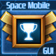 Space Mobile GUI - GraphicRiver Item for Sale
