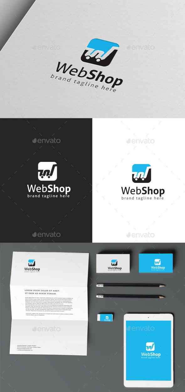 Web Shop - Symbols Logo Templates