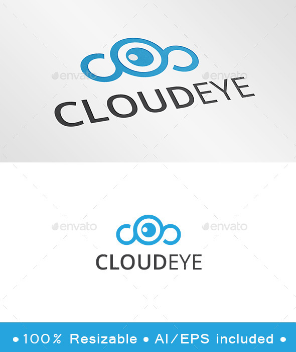 Cloud Eye Logo - Symbols Logo Templates