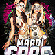 Mardi Gras Template - GraphicRiver Item for Sale