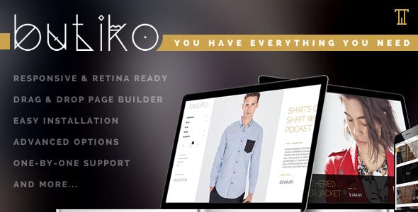 Butiko – Responsive WooCommerce Theme