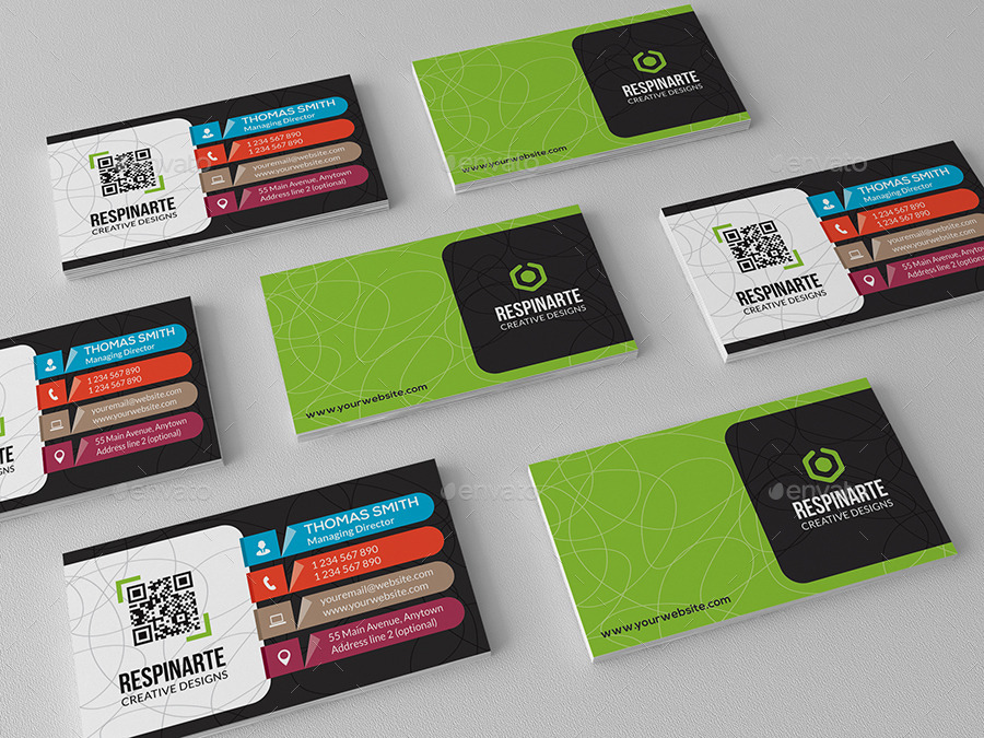 Corporate Business Card - RA80