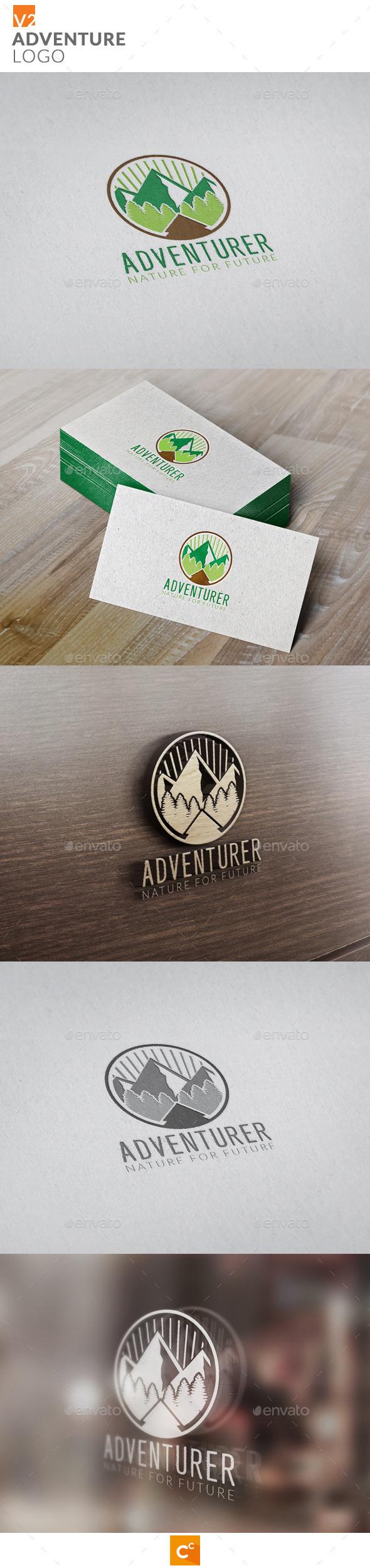 Adventure Logo v2 - Objects Logo Templates