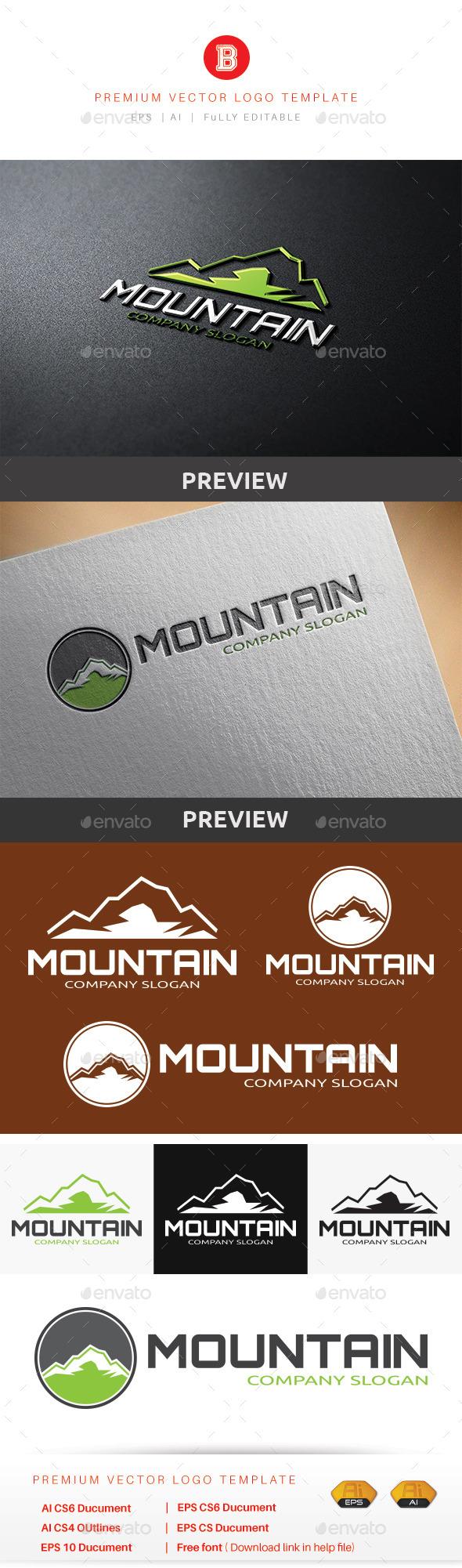 Mountain V.5 - Nature Logo Templates