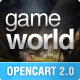 OpenCart Game Theme - GameWorld Nulled