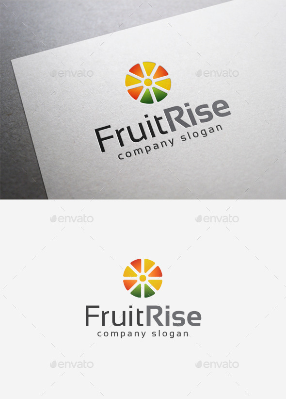 Fruit Rise Logo - Abstract Logo Templates