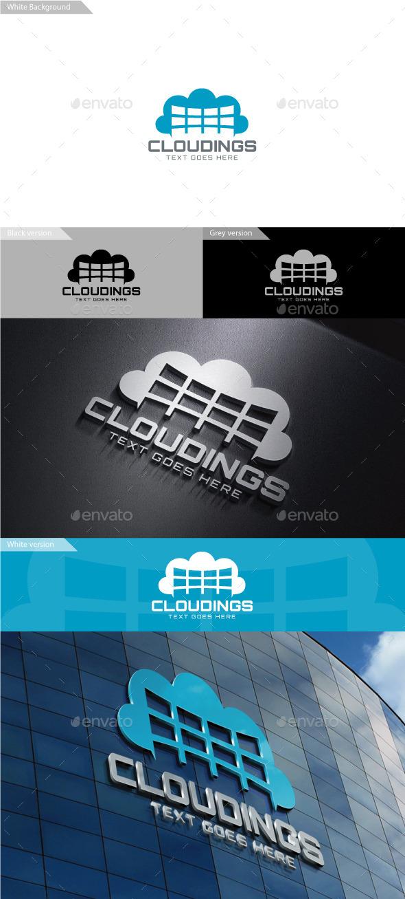 Cloudings Logo - Symbols Logo Templates
