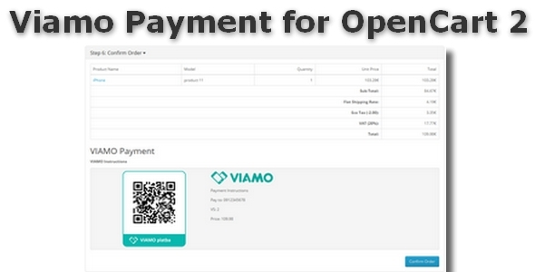 Viamo Payment for OpenCart 2 - CodeCanyon Item for Sale