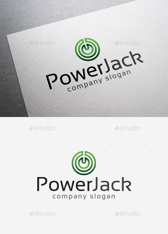 Power Jack Logo - Symbols Logo Templates