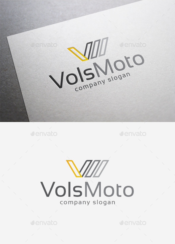 Vols Moto Logo - Letters Logo Templates