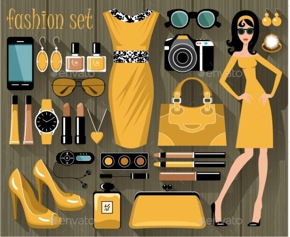Fashion Set - Commercial / Shopping Conceptual