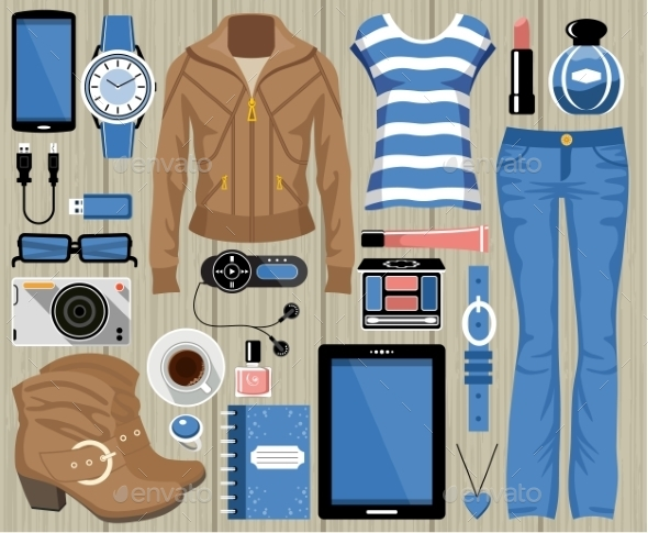 Fashion Set - Commercial / Shopping Conceptual