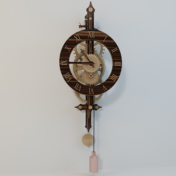 Watch plywood - 3DOcean Item for Sale