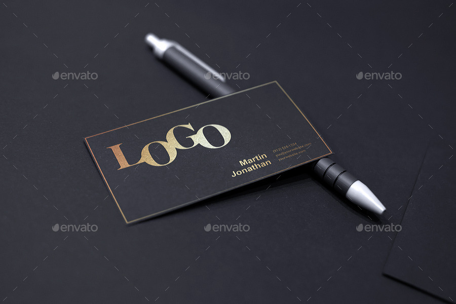 Realistic Business Card Mockup By Webandcat Graphicriver