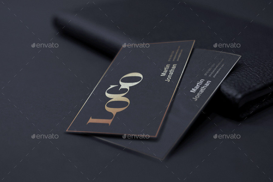 Realistic Business Card Mockup by webandcat | GraphicRiver