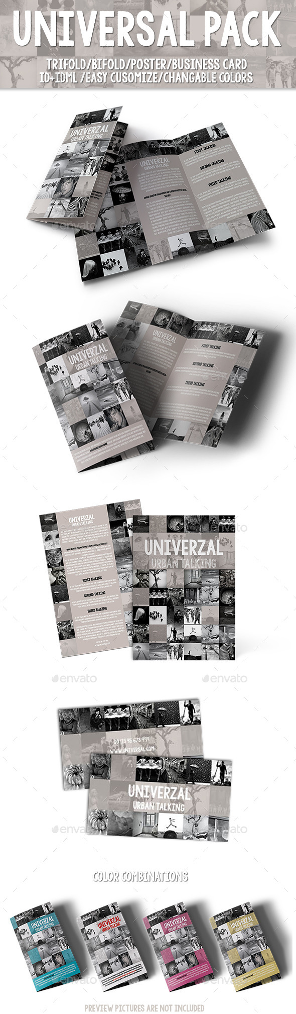Universal Pack - Print Templates